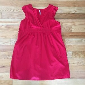 Hot Pink Old Navy Cotton Dress